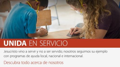 Unida en servicio