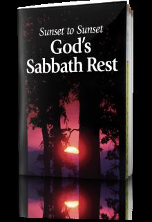 Sunset to Sunset - God's Sabbath Rest